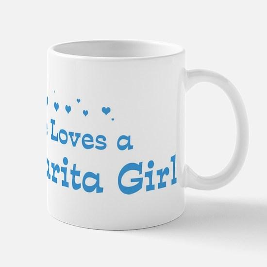 Loves Santa Clarita Girl Mug