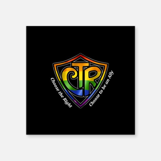 CTR Rainbow Ally Sticker