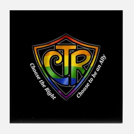 CTR Rainbow Ally Tile Coaster