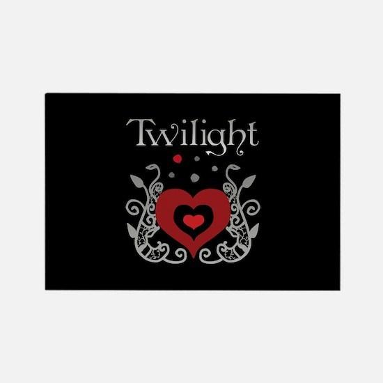 Heart Twilight Rectangle Magnet