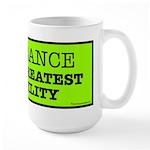 Ignorance is the greatest disability Large Mug