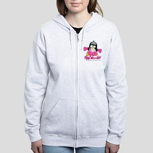 BC Fighting Penguin Women's Zip Hoodie