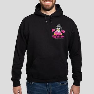 BC Fighting Penguin Hoodie (dark)