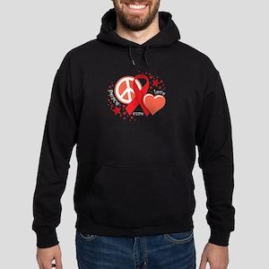 HIV/AIDS PLC Hoodie (dark)