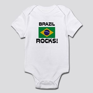 Brazil Rocks! Infant Bodysuit