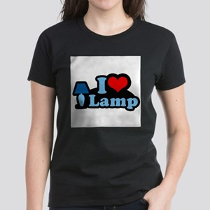 I heart lamp - Women's Dark T-Shirt