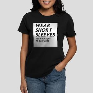 Wear short sleeves - Women's Dark T-Shirt