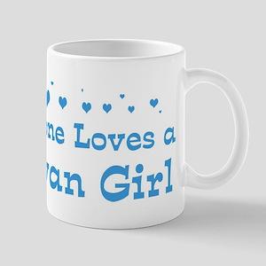 Loves Taiwan Girl Mug