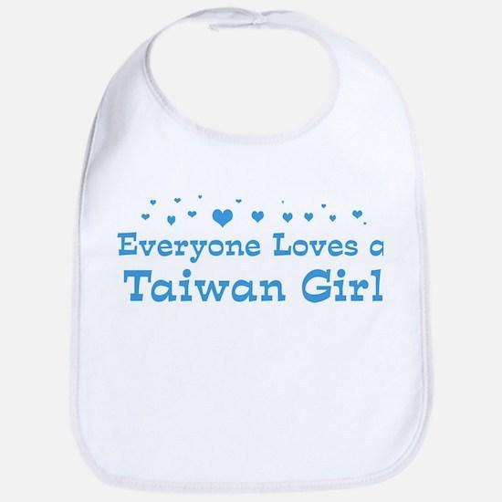 Loves Taiwan Girl Bib