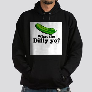 What the Dilly yo? Hoodie (dark)