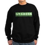 Go Green Alien Sweatshirt (dark)