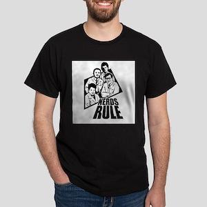 Nerds rule ~ Dark T-Shirt