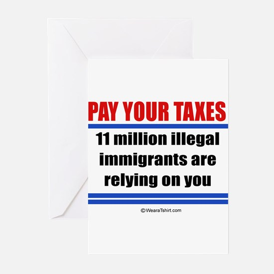 Pay your taxes - Greeting Cards (Pk of 20)