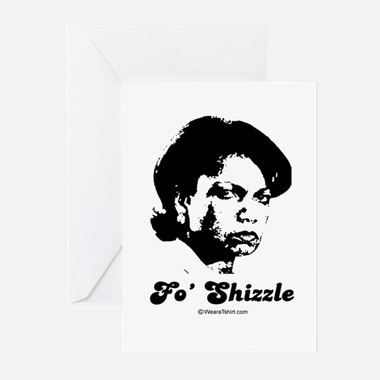 FO SHIZZLE - Greeting Cards (Pk of 20)