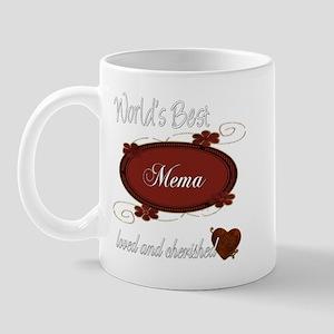 Cherished Mema Mug