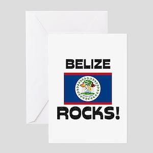 Belize Rocks! Greeting Card