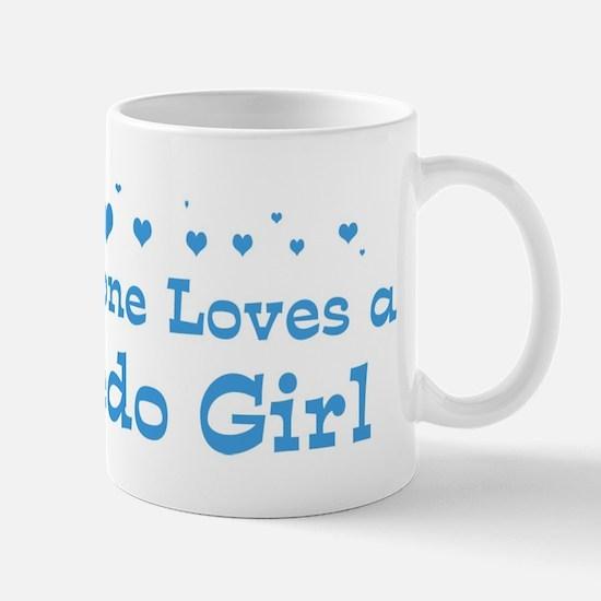 Loves Toledo Girl Mug