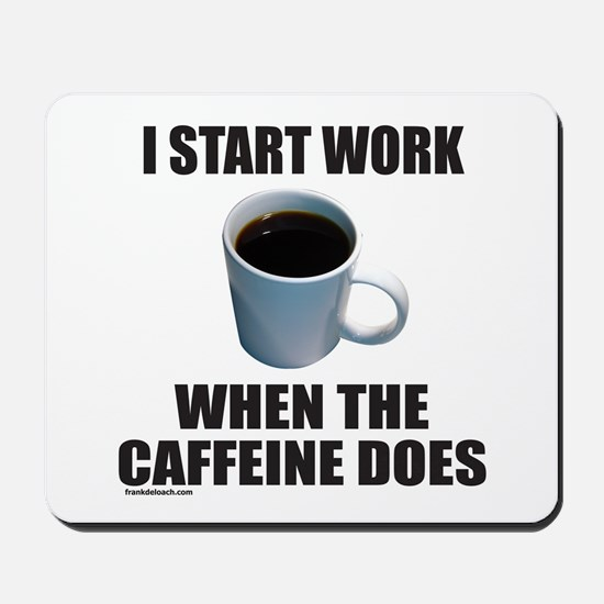 COFFEE LOVER/ADDICT Mousepad