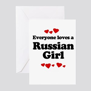 pnlove_russiangirl Greeting Cards
