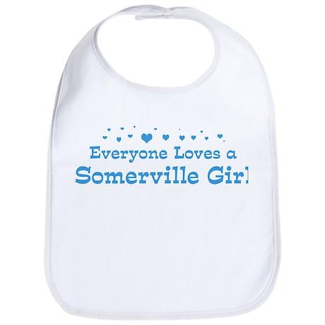 Loves Somerville Girl Bib