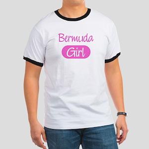 Bermuda girl Ringer T