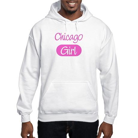Chicago girl Hooded Sweatshirt