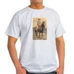 The Lonesome Cowboy Ash Grey T-Shirt