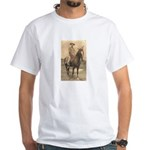 The Lonesome Cowboy White T-Shirt