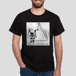 Ho, Ho, Hanukkah ~ Dark T-Shirt