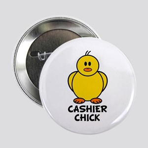 "Cashier Chick 2.25"" Button"