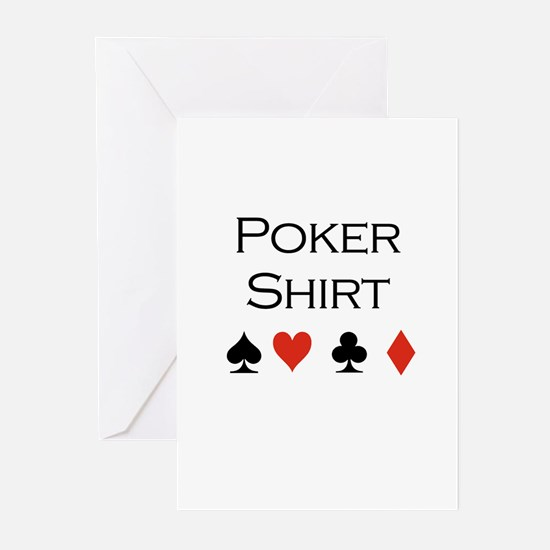 Poker Shirt Greeting Cards (Pk of 20)