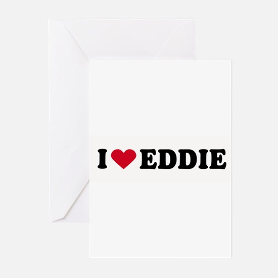 I LOVE EDDY ~ Greeting Cards (Pk of 20)