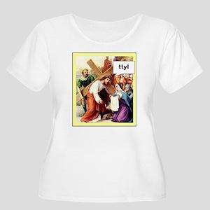 ttyl2 Plus Size T-Shirt