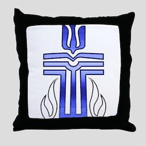 Presbyterian Cross Throw Pillow