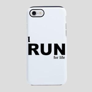 I run for life iPhone 8/7 Tough Case