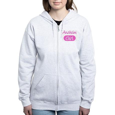 Anaheim girl Women's Zip Hoodie