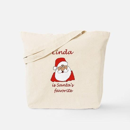 Linda Christmas Tote Bag