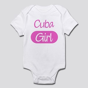Cuba girl Infant Bodysuit