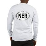 Ner Front & Oval Back Men's Long Sleeve T-