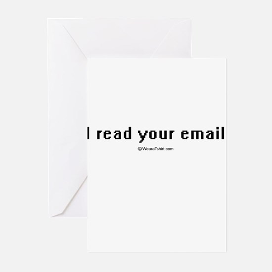 I read your email ~ Greeting Cards (Pk of 20)