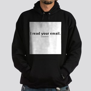 I read your email ~ Hoodie (dark)