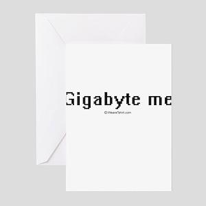Gigabyte me ~ Greeting Cards (Pk of 20)