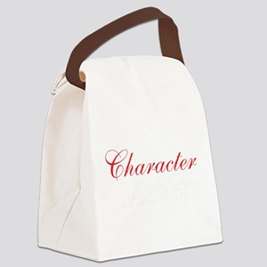Character Matters Canvas Lunch Bag
