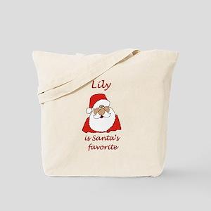 Lily Christmas Tote Bag