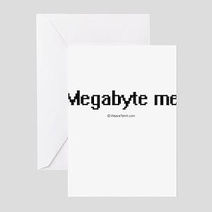 Megabyte me ~ Greeting Cards (Pk of 20)