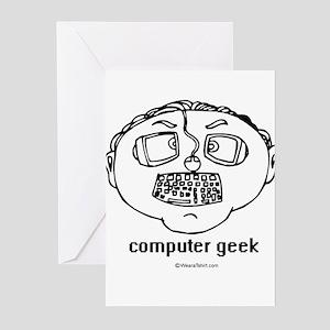 Computer Geek ~ Greeting Cards (Pk of 20)