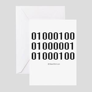 Binary Pride ~ Greeting Cards (Pk of 20)