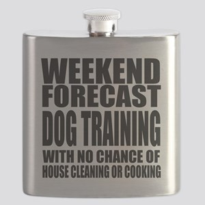 Weekend Forecast Dog Training Sports Designs Flask
