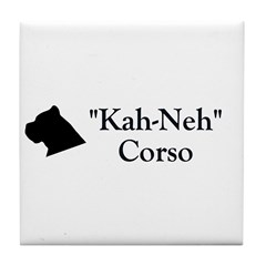 Kah Ney Corso Tile Coaster
