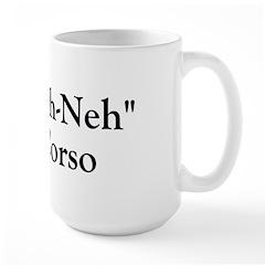 Kah Ney Corso Large Mug